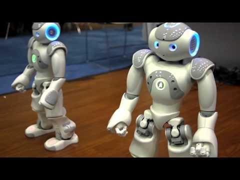 Robots bailando