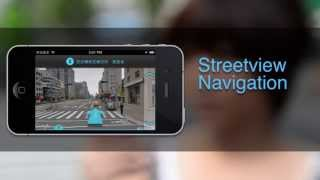 toWALK with Street View YouTube video