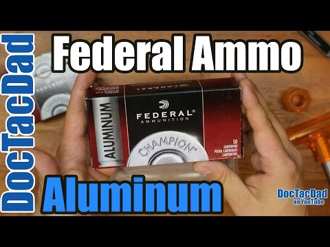 New Ammo - Federal Champion Aluminum 9mm - Ammo Breakdown