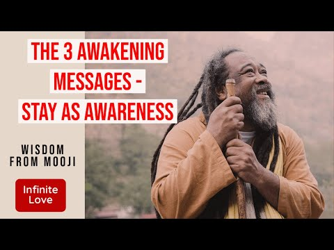 Mooji Video: Three Steps to Freedom
