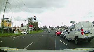 2015 Police Car Collision NSW - Dash Cam Owners Australia