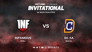 Infamous против Digital Chaos.SA, Первая карта, SA квалификация SL i-League Invitational S3