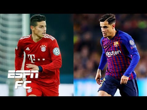 James Rodriguez a good fit for Atletico Madrid? Philippe Coutinho back to Liverpool? | Extra Time