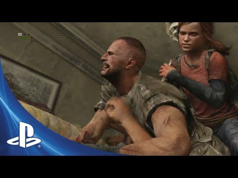 the last of us the truck - Joel and Ellie are attempting to get to the bridge and out of the city. They are tourists in an area that's controlled by hunters. They are hunted and yet th...