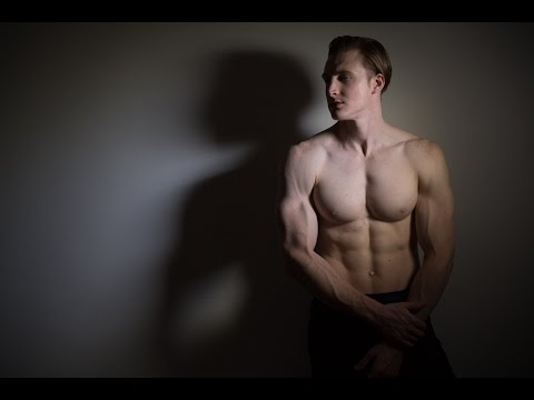 How to Photograph MEN - 3 lighting options