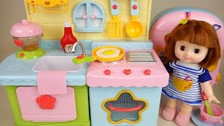 Video Baby Doll Kitchen and play doh cooking toys play MP3, 3GP, MP4, WEBM, AVI, FLV Oktober 2017