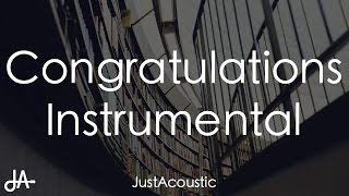 Congratulations - Post Malone ft. Quavo (Acoustic Instrumental)
