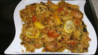 Sindhi Biryani is a special aromatic and colorful biryani. You can make it with chicken or mutton. Potato uses in this recipe that ...