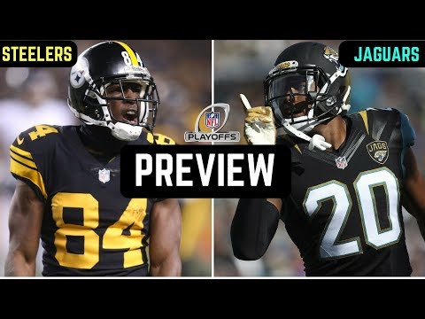 Pittsburgh Steelers vs Jacksonville Jaguars Preview | NFL Divisional Round 2018