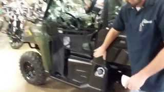 5. 2015 Polaris Ranger 570 Full Size walk-a-round