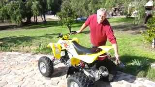 7. Suzuki LTZ 400 QuadSport Walkaround (For SALE!)