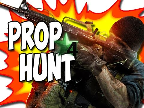Call of Duty 4:  Prop Hunt Funny Moments!  (Antenna Madness!) #16
