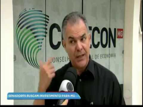 Empenho de Aécio Neves para trazer investimentos para Minas: assista matéria da Record