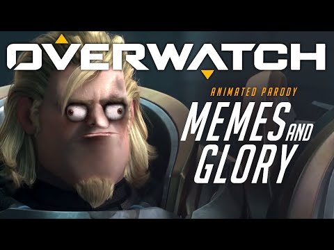 Overwatch Animated Short | Memes and Glory