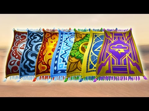 Wizard101: New School Carpet Mounts! - Which One Should I Get?? (видео)