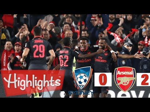Sydney FC vs Arsenal 0-2 - All Goals & Extended Highlights   pre-season friendly