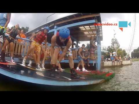 Wakeboarding ve Stráži pod Ralskem