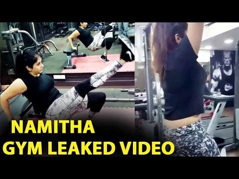 Namitha GYM WorkOut Leaked Video Hulchul In Social Network