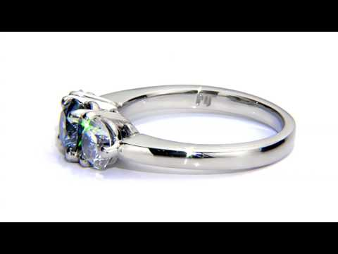 Blue Diamond Ring, Takara Lab Grown