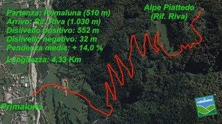 Da Primaluna al Rifugio Riva