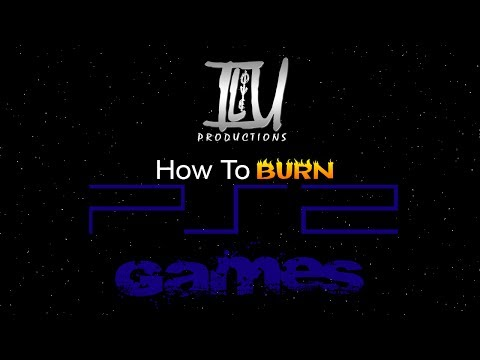 How To Burn PS2 Games To DVD