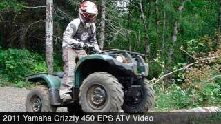10. 2011 Yamaha Grizzly 450 EPS ATV Review