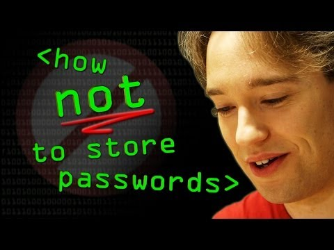 How NOT to Store Passwords! – Computerphile