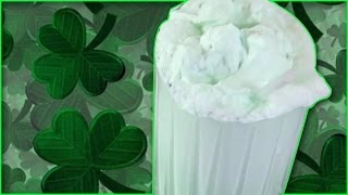 Homemade Shamrock Shake : Kids Recipe