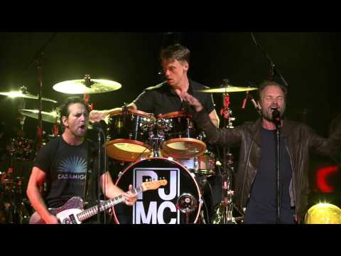 WATCH: Pearl Jam Remakes Song From The Police With Sting
