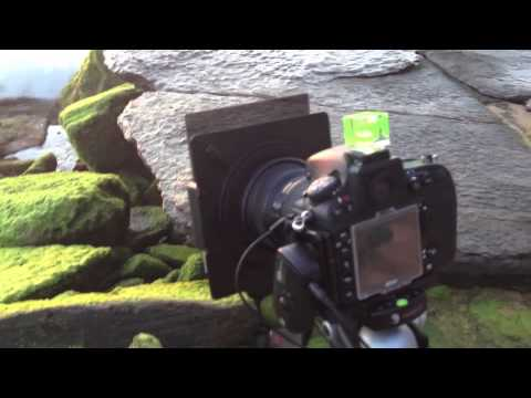 Shooting a Seascape with a LEE SW-150 kit and ND Grad Filter