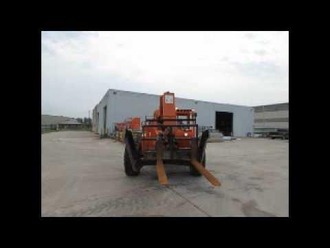 Sold! Skytrak 10054 10K Telescopic Reach Forklift Telehandler bidadoo.com