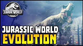 Jurassic World Evolution Gameplay - The Birth of Life! Run Your Own Dinosaur Park (Part 1)