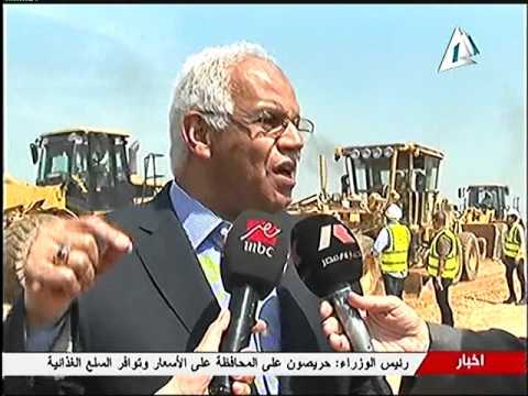 وزير النقل يتفقد الاعمال الانشائية لطريق شبرا بنها الحر