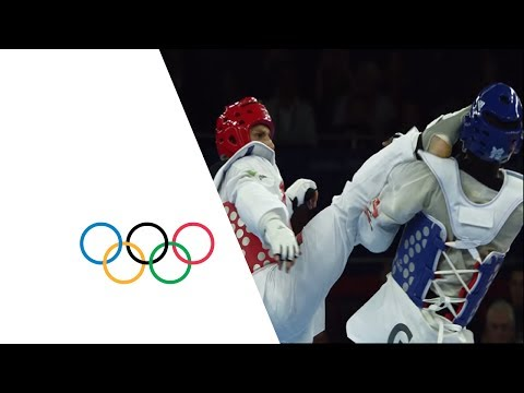 taekwondo - Full replay of the final of the men's Taekwondo +80kg gold medal match, 11 August at the London 2012 Olympic Games. Italy's Carlo Molfetta defeats Gabon's An...