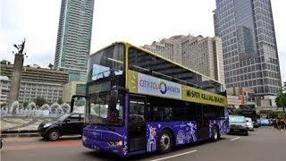 Jakarta Indonesia  City new picture : City Tour Bus - Monas, Jakarta 2014