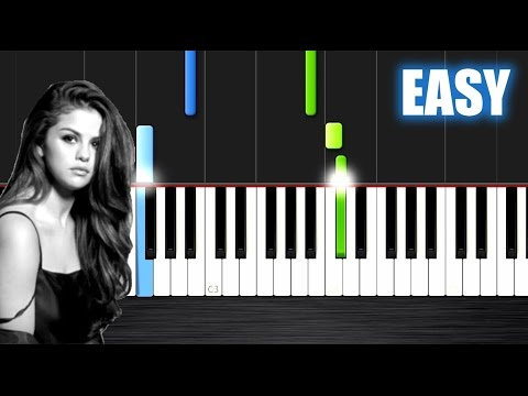 Selena Gomez - Kill Em With Kindness - EASY Piano Tutorial by PlutaX