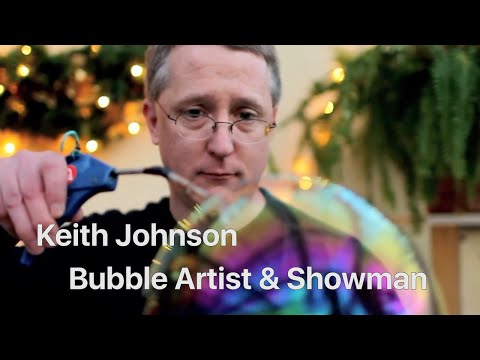 Bubbles - Keith Johnson's BUBBLEOOGY is a touring performance exploring the secret world of bubbles. Featuring state of the art bubble art and interactive educational ...