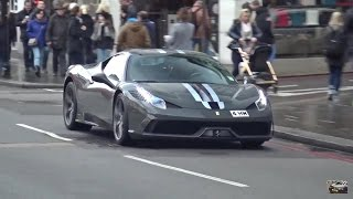 London Supercars January 2016: Veyron SS, GT12, P1,Carrera GT and more! by 458MRP