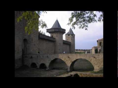 France Carcassonne Medieval Castle/city Frankrijk Carcassonne Middeleeuwse stad UNESCO