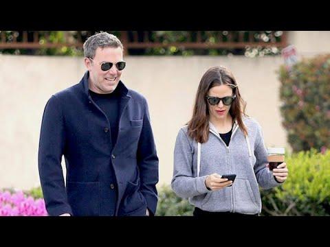Ben Affleck Bonds With Jennifer Garner While Co-Parenting In Brentwood