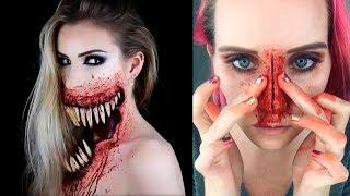 Video ✦Special Effects Makeup Transformations | Halloween Makeup Tutorials 2017 MP3, 3GP, MP4, WEBM, AVI, FLV Desember 2018