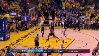 Quarter 4 One Box Video :Warriors Vs. Spurs, 5/16/2017 12:00:00 AM