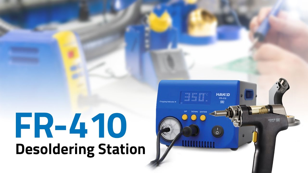 FR-410 High Power, 140-Watt Desoldering Station