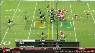 Seantrel Henderson vs FAU (2013)