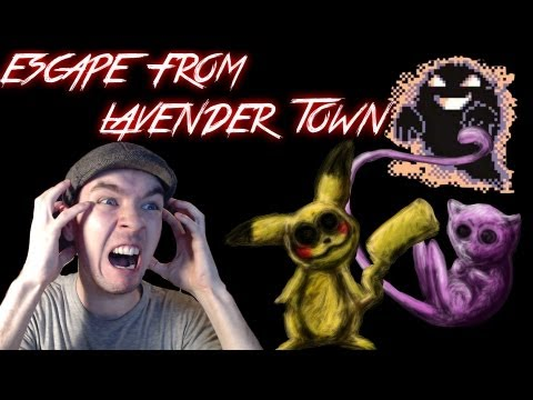 Escape From Lavender Town | RIGHT IN THE CHILDHOOD! | Scary Pokemon Game