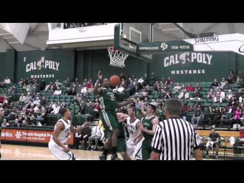 Cal Poly Men's Basketball Highlights versus Eastern New Mexico (Dec. 14, 2012)