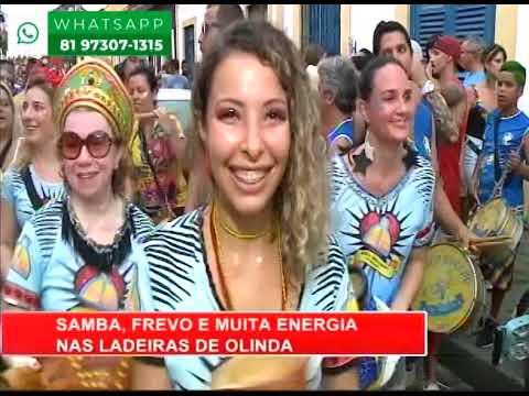 [RONDA GERAL] Samba, frevo e muita energia nas ladeiras de Olinda