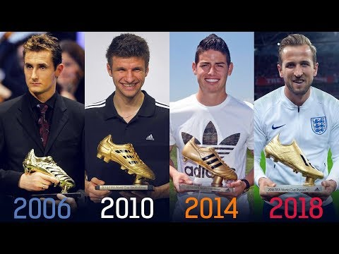 FIFA World Cup Golden Boot Winners II 1930 - 2018 II