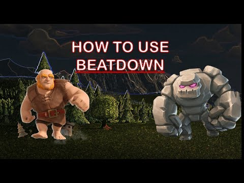 Clash Royale | How to Use: Beatdown | Deck Archetype Guide