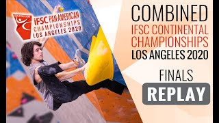 IFSC Pan-American Championships 2020 - MEN - Finals by International Federation of Sport Climbing